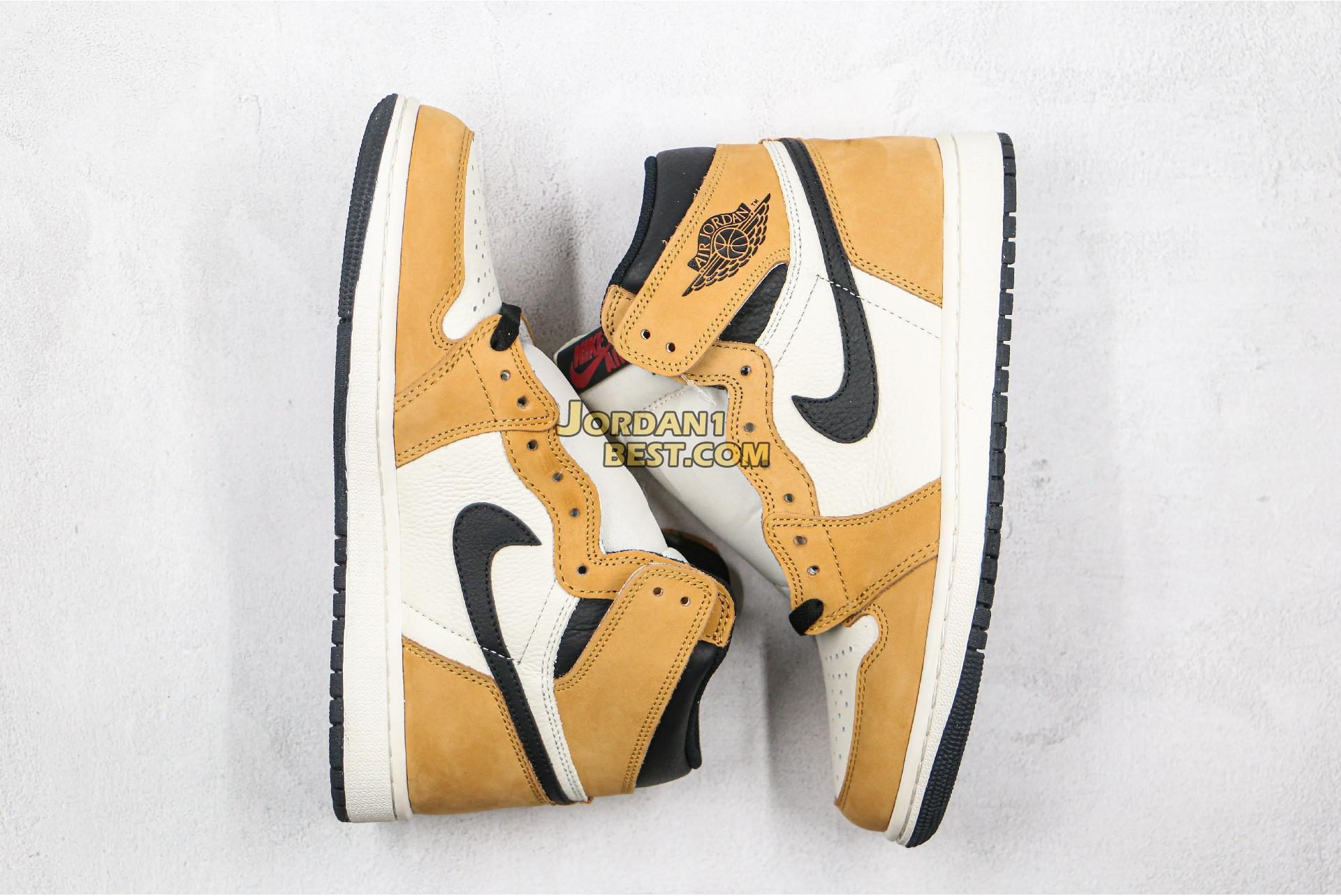 "Air Jordan 1 Retro High OG ""Rookie of the Year"" Sample 555088-700 Mens Womens"