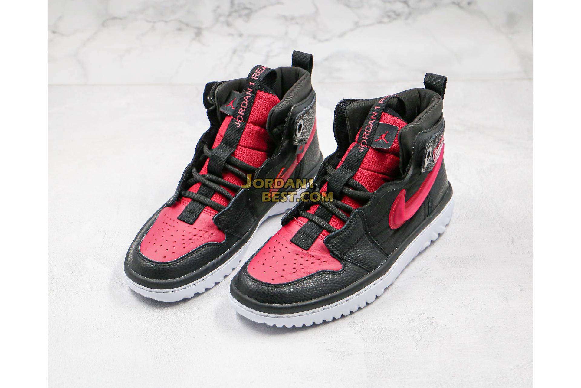 "Air Jordan 1 React ""Noble Red"" AR5321-006 Mens Womens"