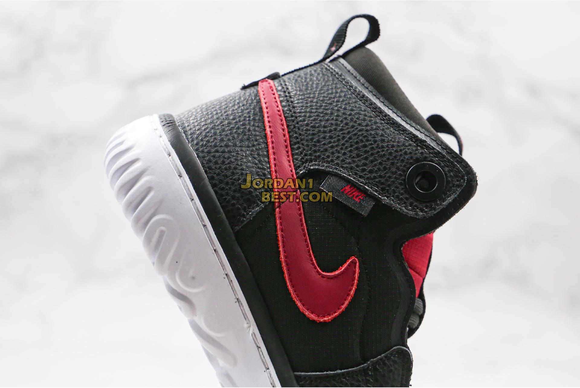 """Air Jordan 1 React """"Noble Red"""" AR5321-006 Mens Womens"""