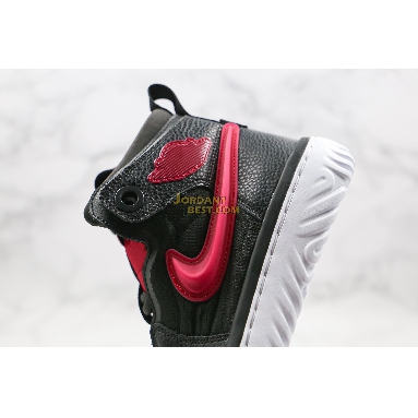 "AAA Quality Air Jordan 1 React ""Noble Red"" AR5321-006 Mens Womens black/white/noble red Shoes replicas On Wholesale Sale Online"