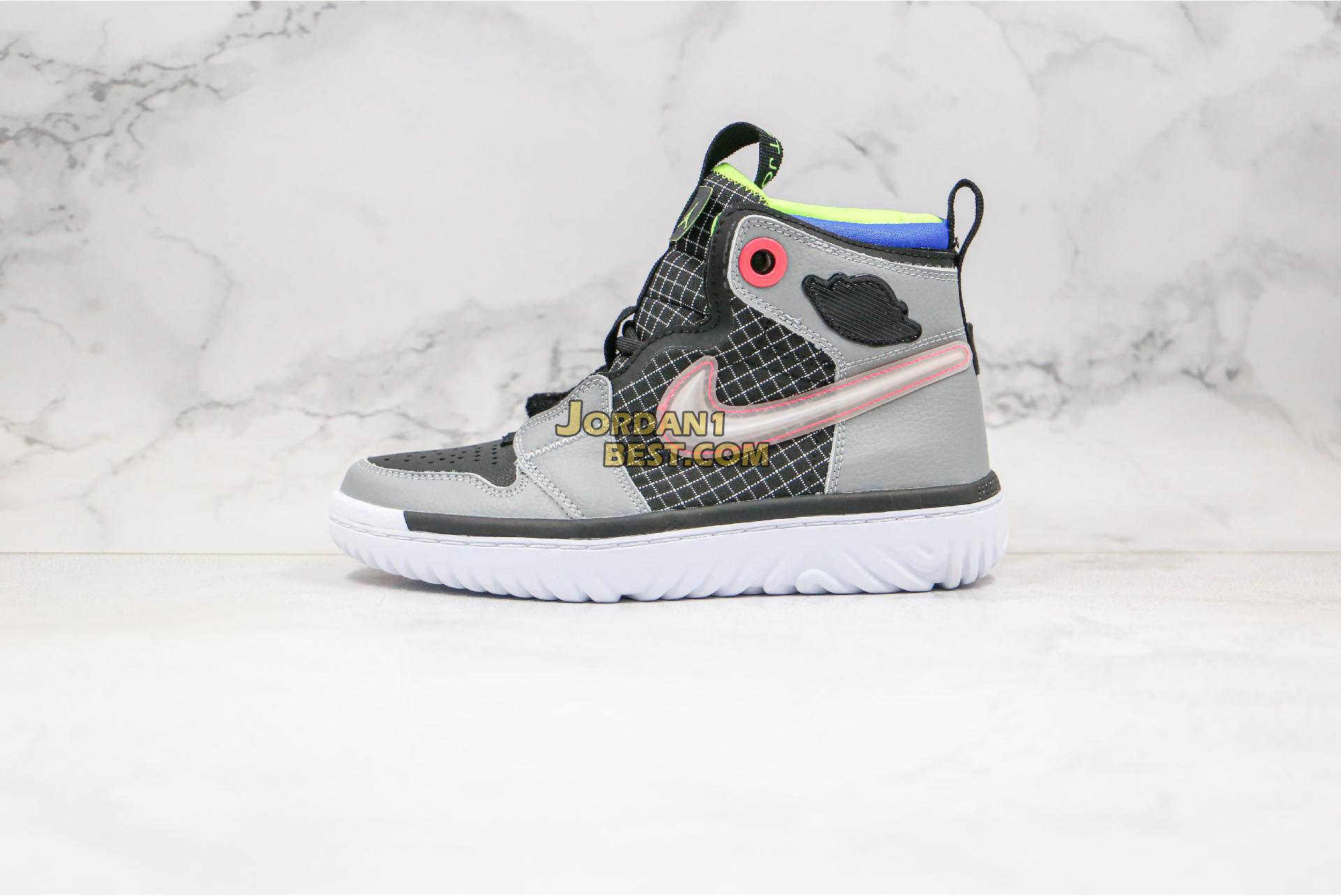"Air Jordan 1 React ""Multi-Color"" AR5321-002 Mens"
