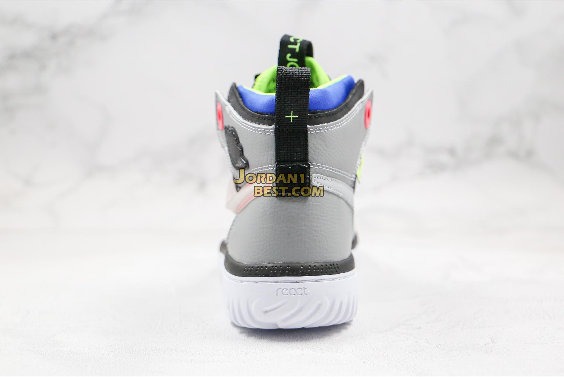 "Air Jordan 1 React ""Multi-Color"" AR5321-002 Mens"