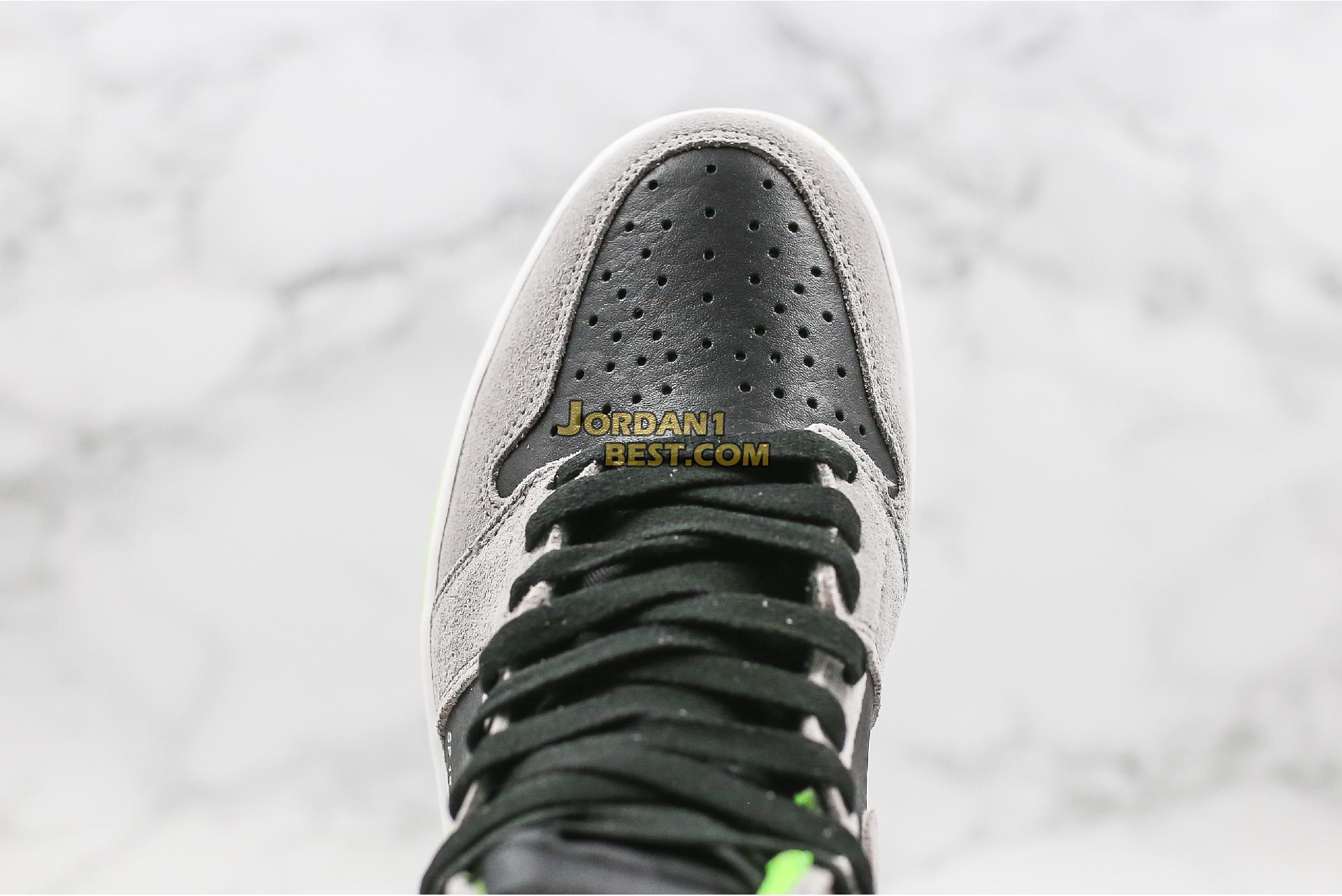 "Air Jordan 1 Retro High OG ""Neutral Grey Volt"" 555088-070 Mens Womens"