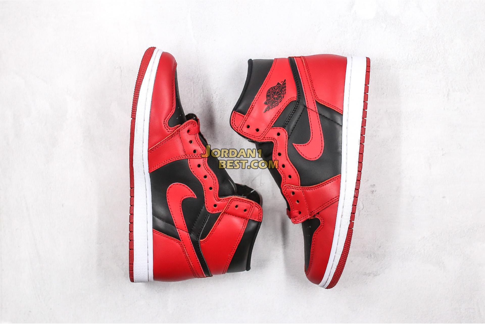 "Air Jordan 1 Retro High 85 ""Varsity Red"" BQ4422-600 Mens Womens"
