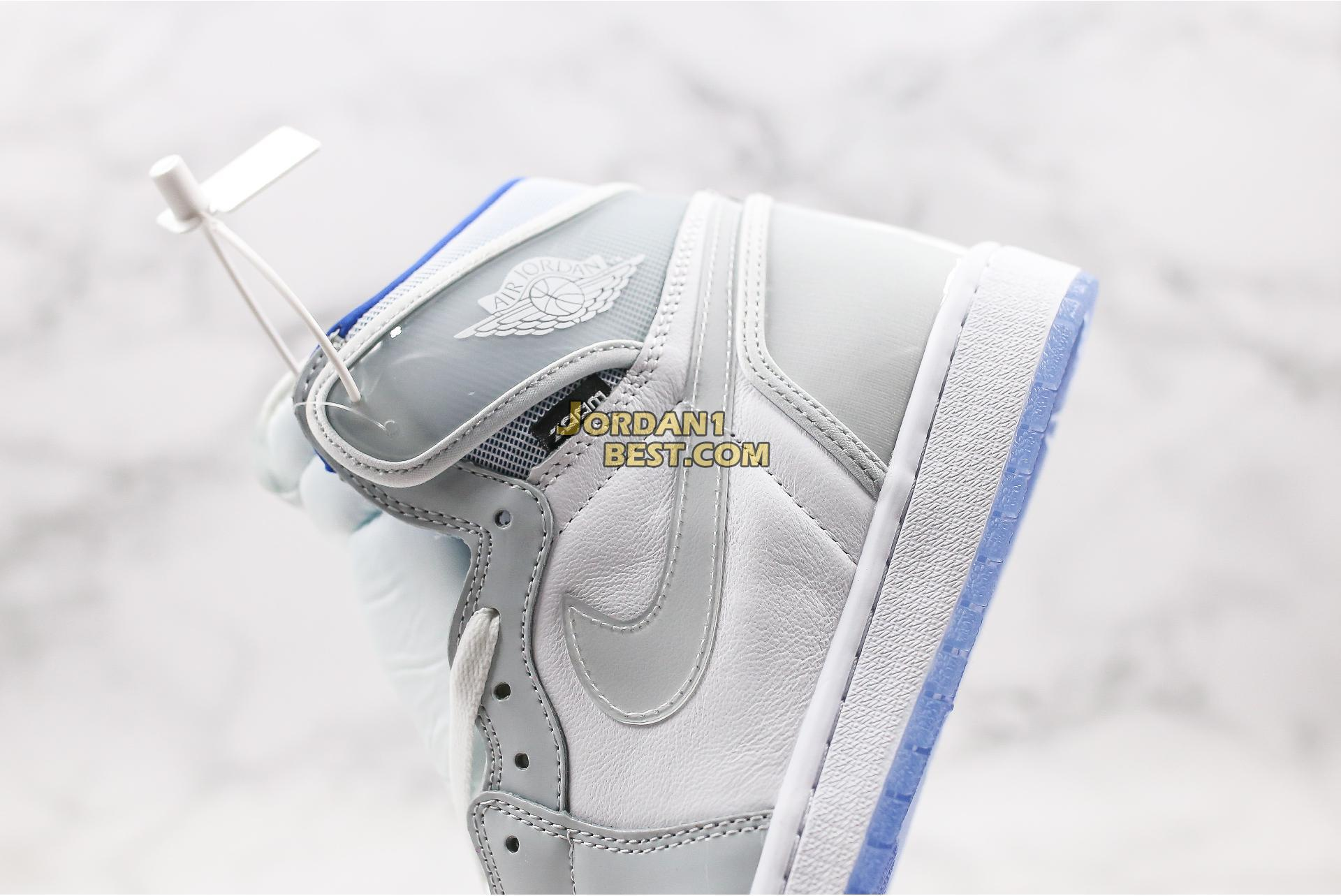 "Air Jordan 1 High Zoom ""Racer Blue"" CK6637-104 Mens Womens"