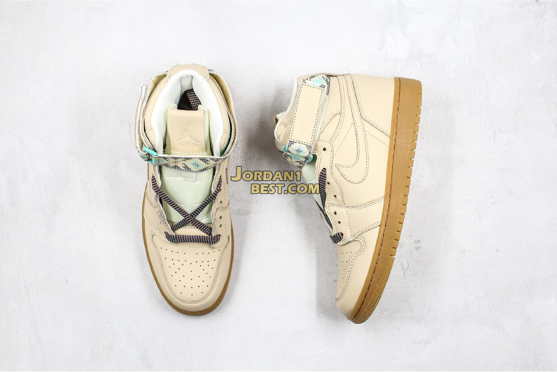 "Air Jordan 1 Retro Hi Strap ""N7"" AR4410-207 Mens"