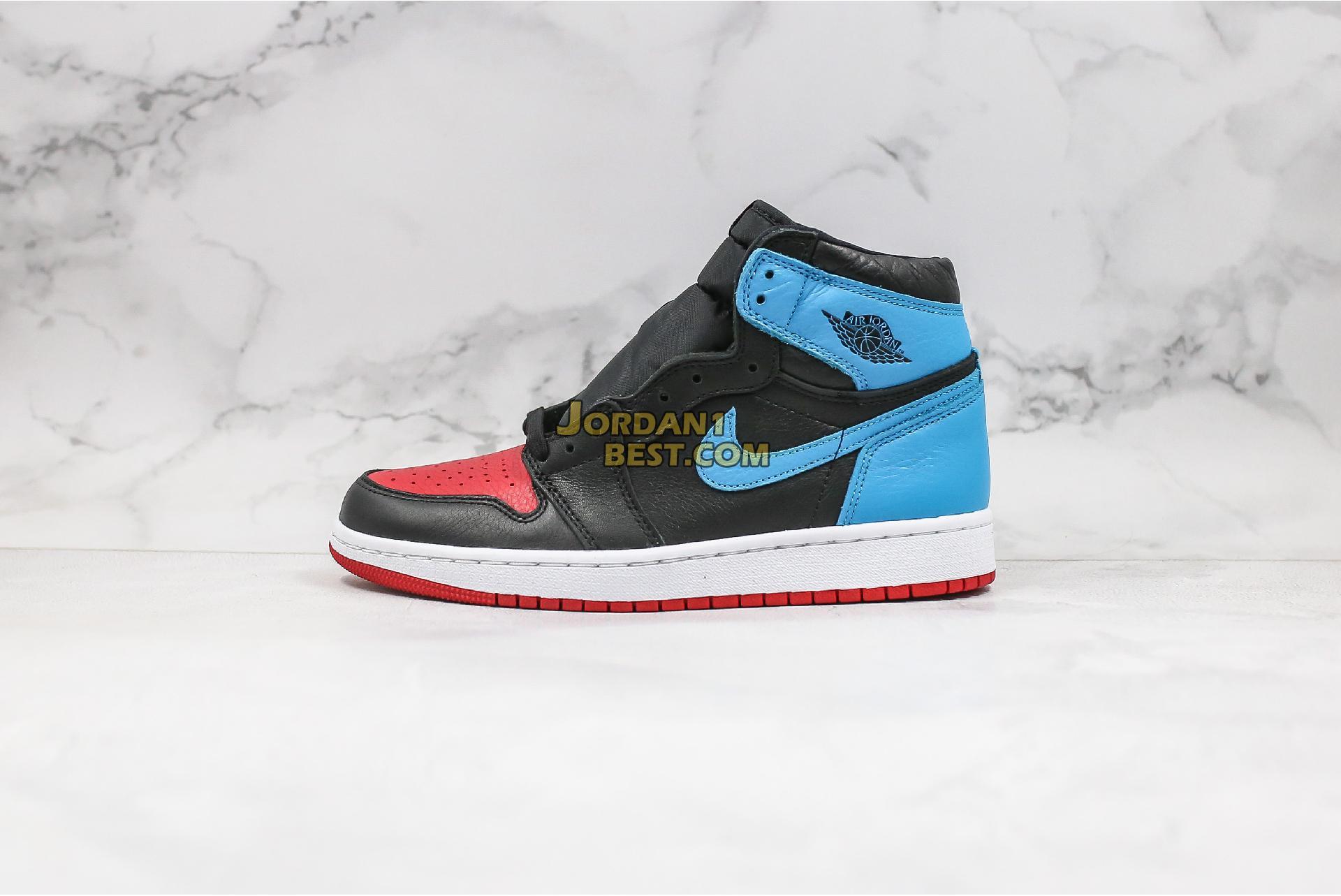 """Air Jordan 1 High OG """"UNC To Chicago"""" CD0461-046 Mens Womens"""