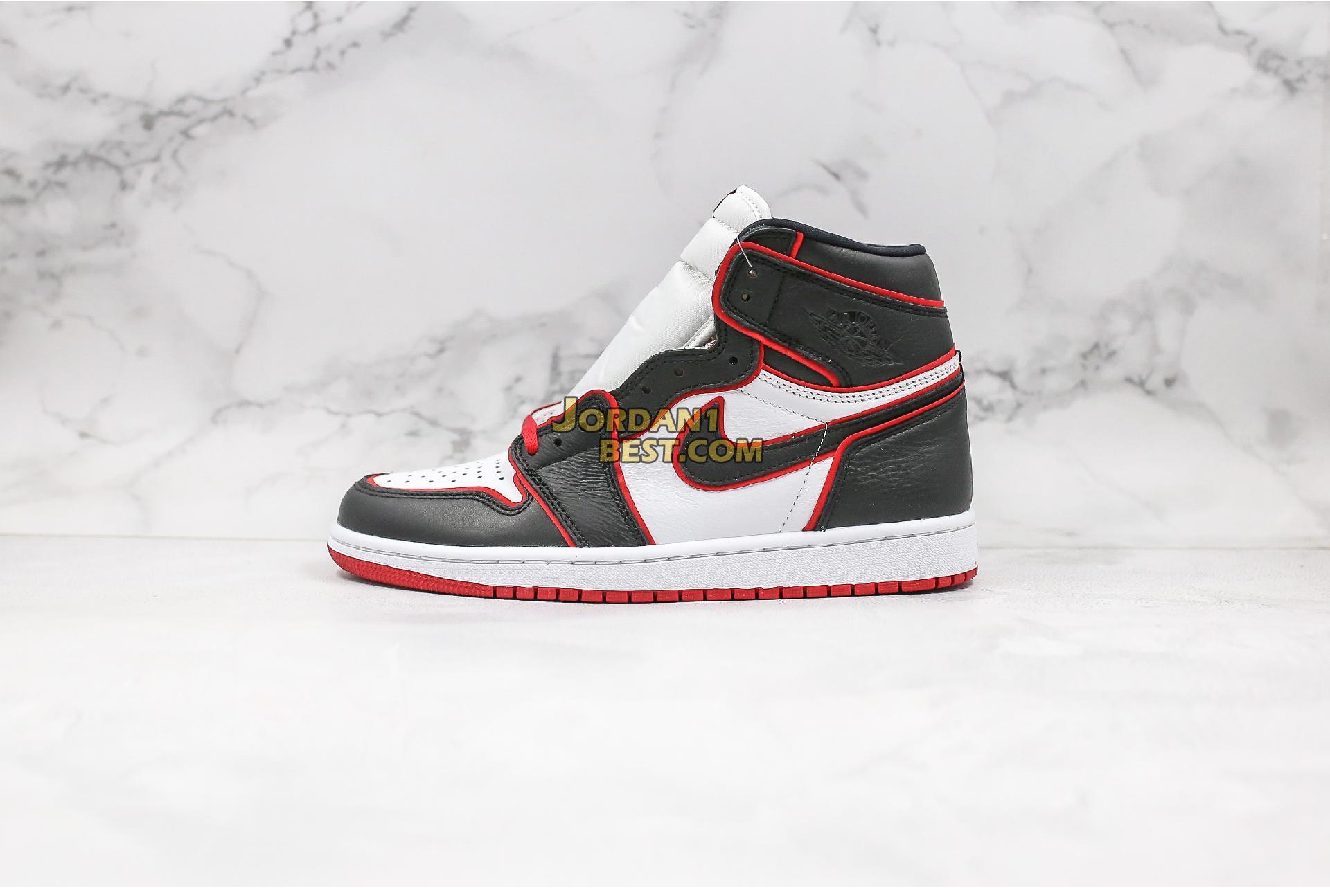 "Air Jordan 1 Retro High OG ""Bloodline"" 555088-062 Mens"