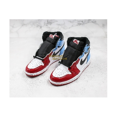 "new replicas Air Jordan 1 Retro High OG ""Fearless"" CK5666-100 Mens white/university blue-varsity red-black Shoes replicas On Wholesale Sale Online"