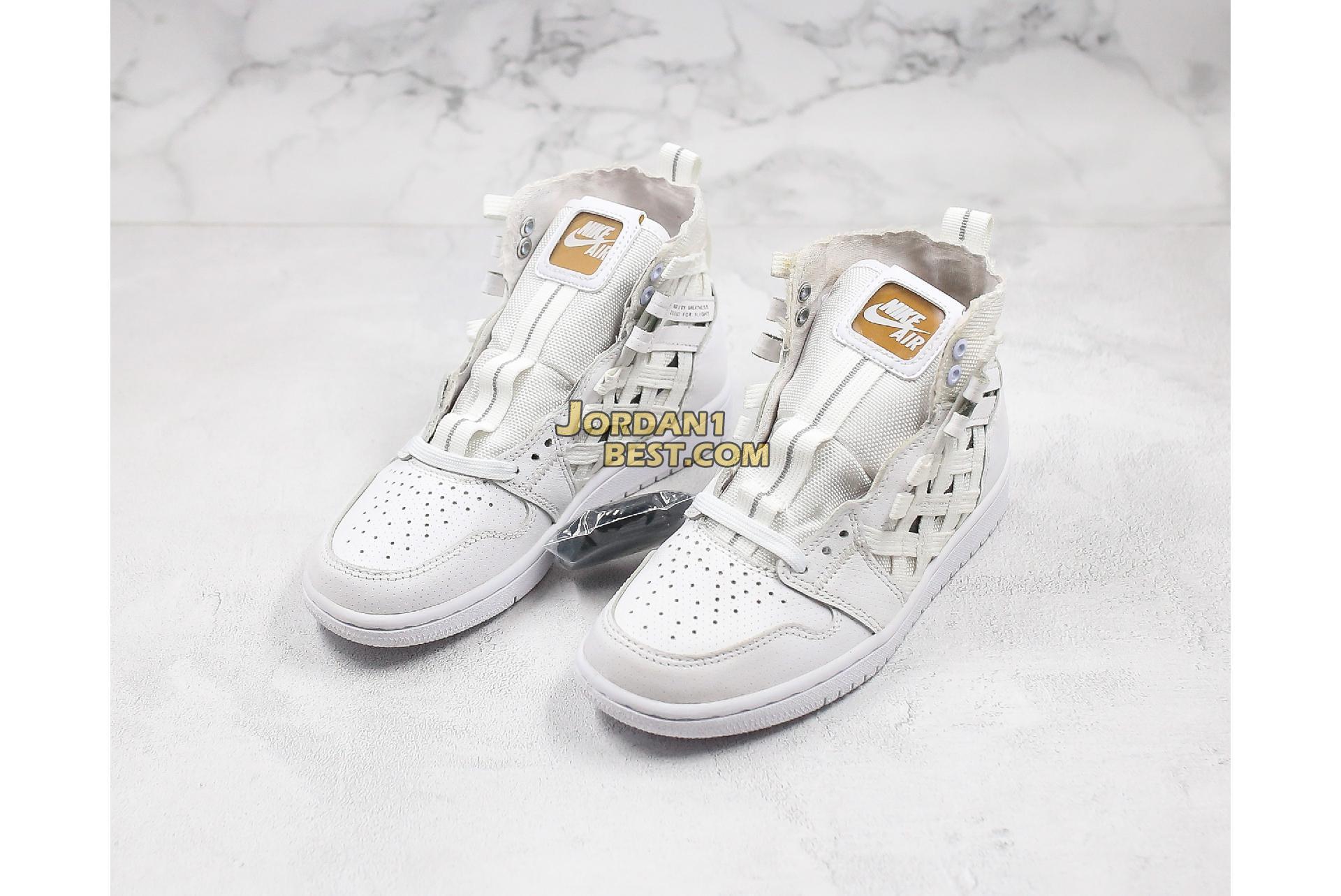 "Air Jordan 1 High Cargo ""Metallic Silver"" CD6757-100 Mens Womens"