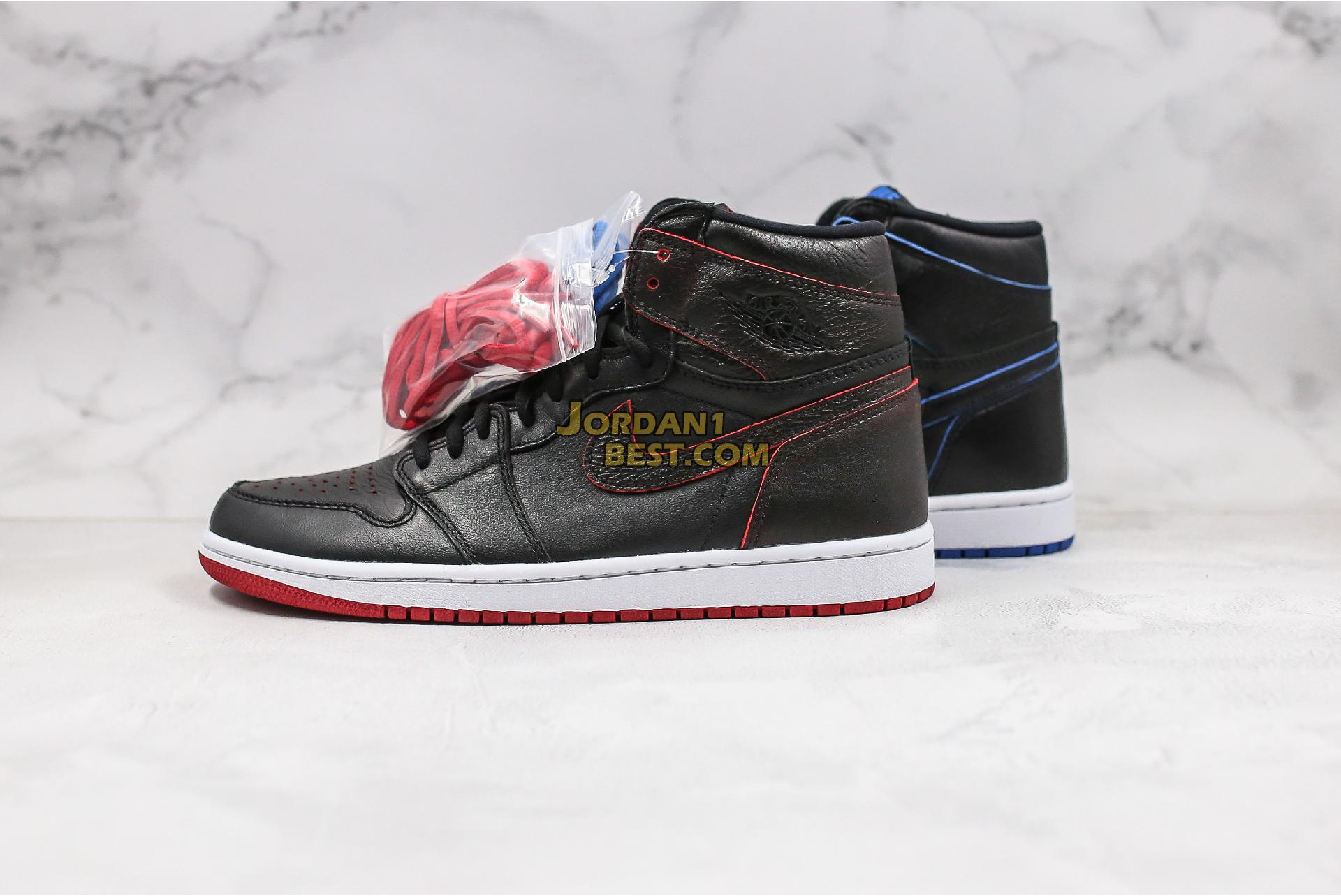 "Lance Mountain x Air Jordan 1 Retro SB QS ""Black"" 653532-002 Mens"