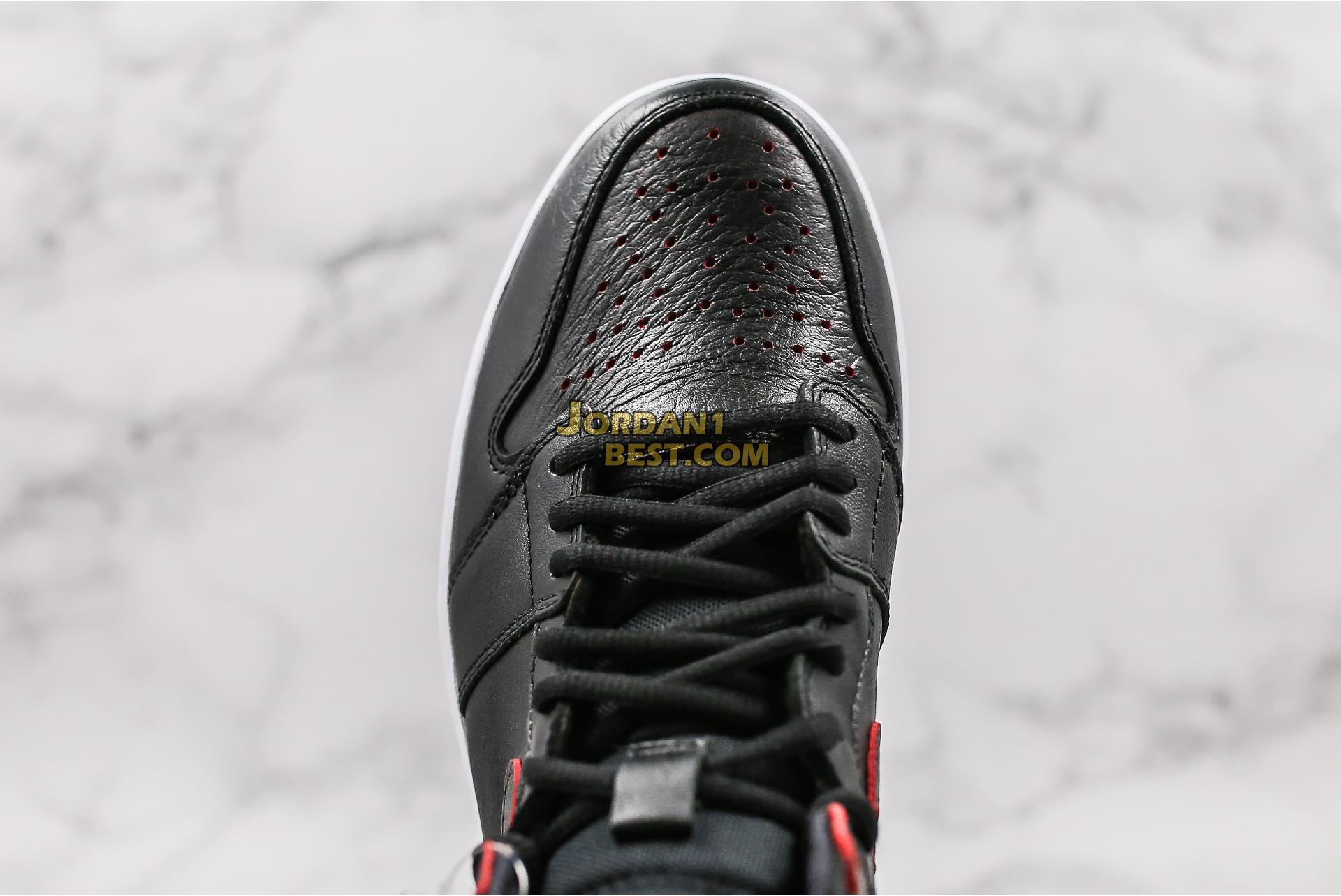 "Lance Mountain x Air Jordan 1 Retro SB QS ""Black"" 653532-002 Mens"