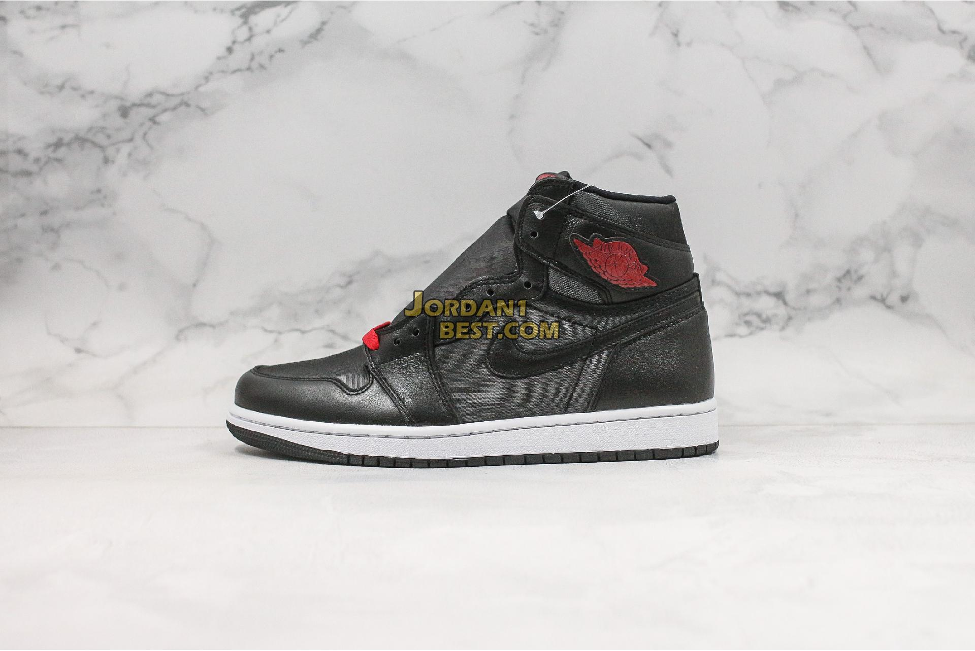 "Air Jordan 1 Retro High OG ""Black Gym Red"" 555088-060 Mens"