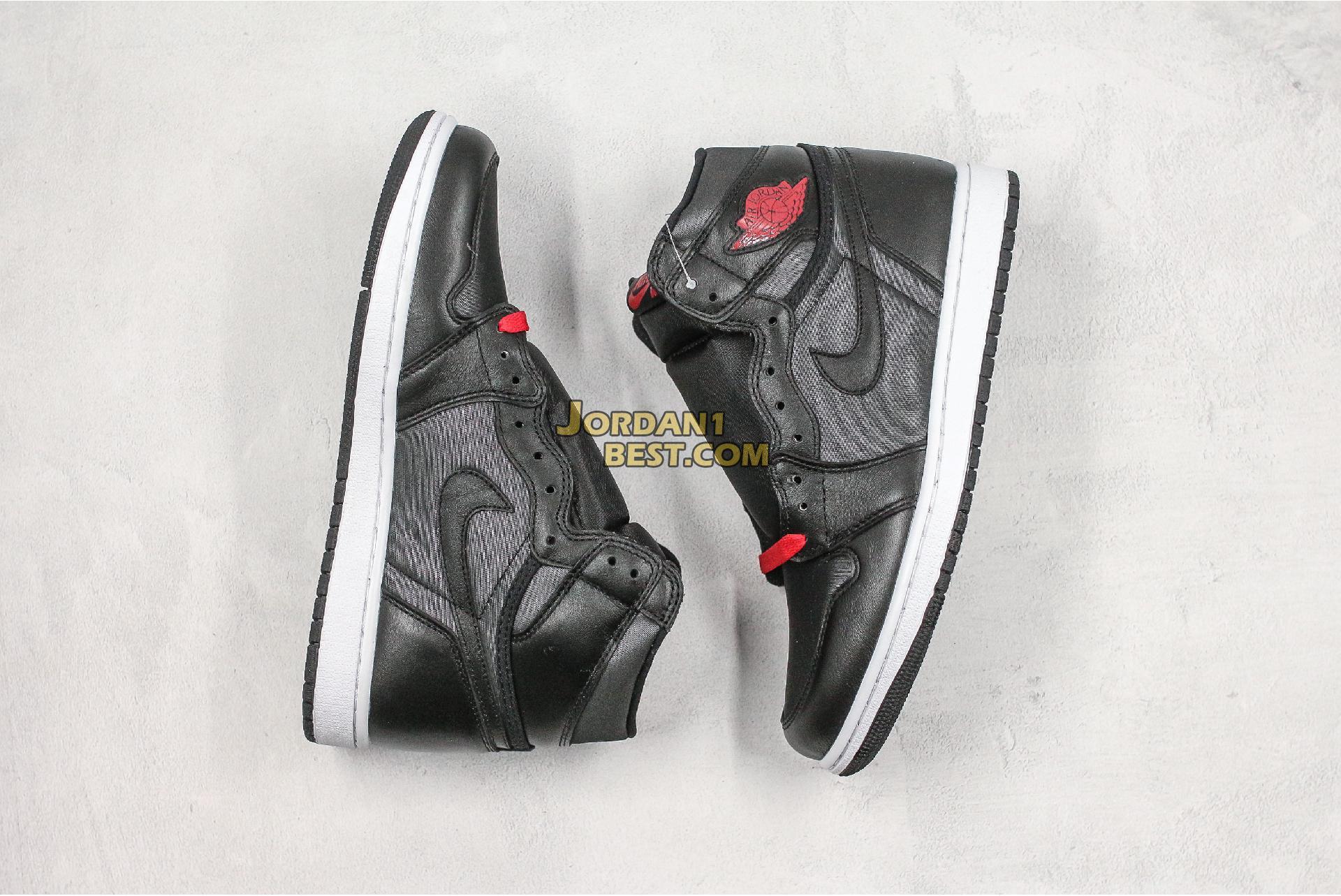 "Air Jordan 1 Retro High OG ""Black Gym Red"" 555088-060 Mens"