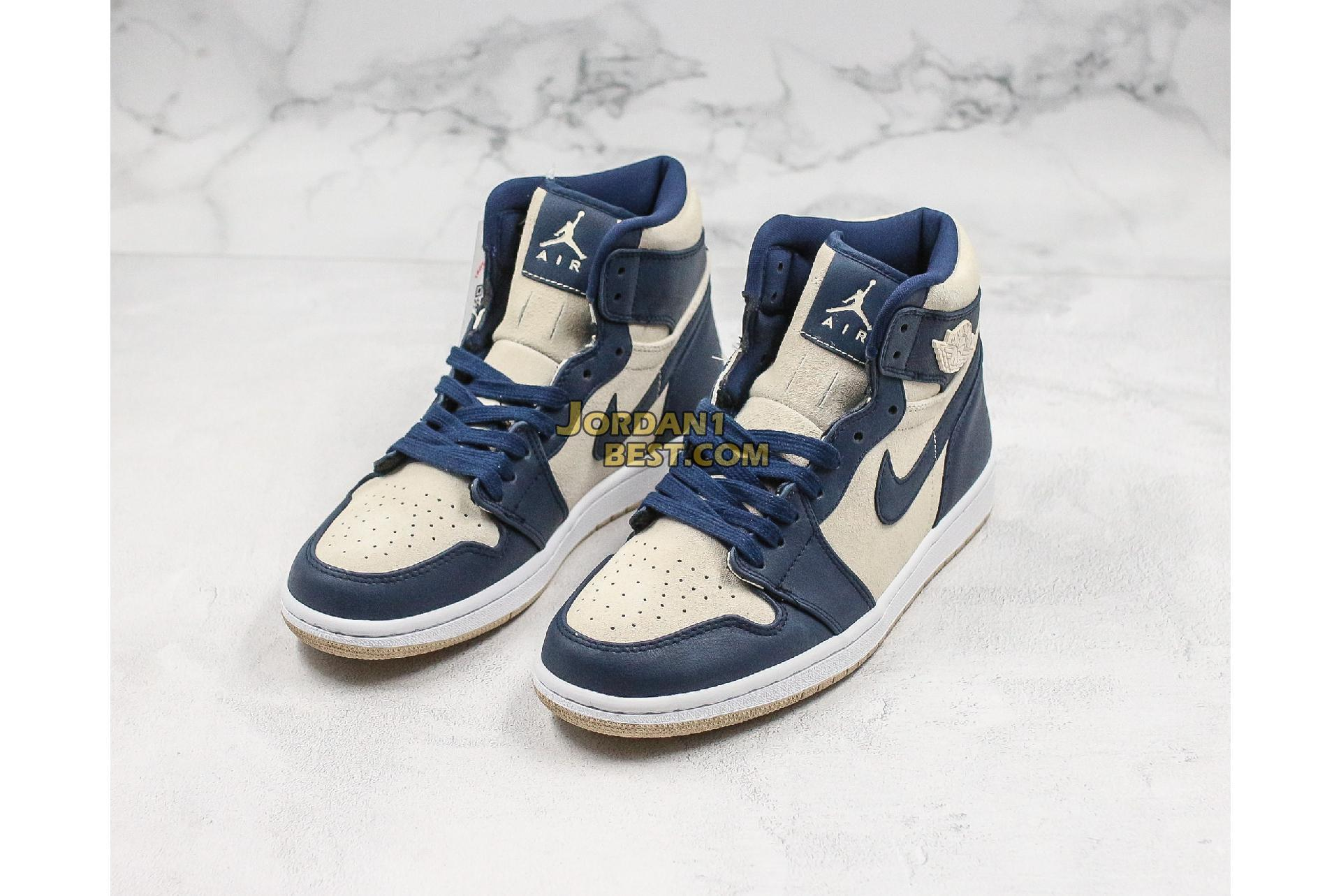 "Air Jordan 1 High ""Navy Cream"" AQ9131-401 Mens Womens"