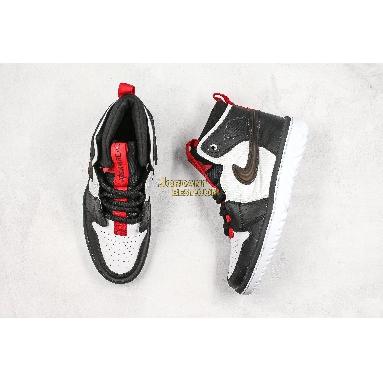 "best replicas Air Jordan 1 React High ""Black White"" AR5321-016 Mens black/white/gym red-black Shoes replicas On Wholesale Sale Online"