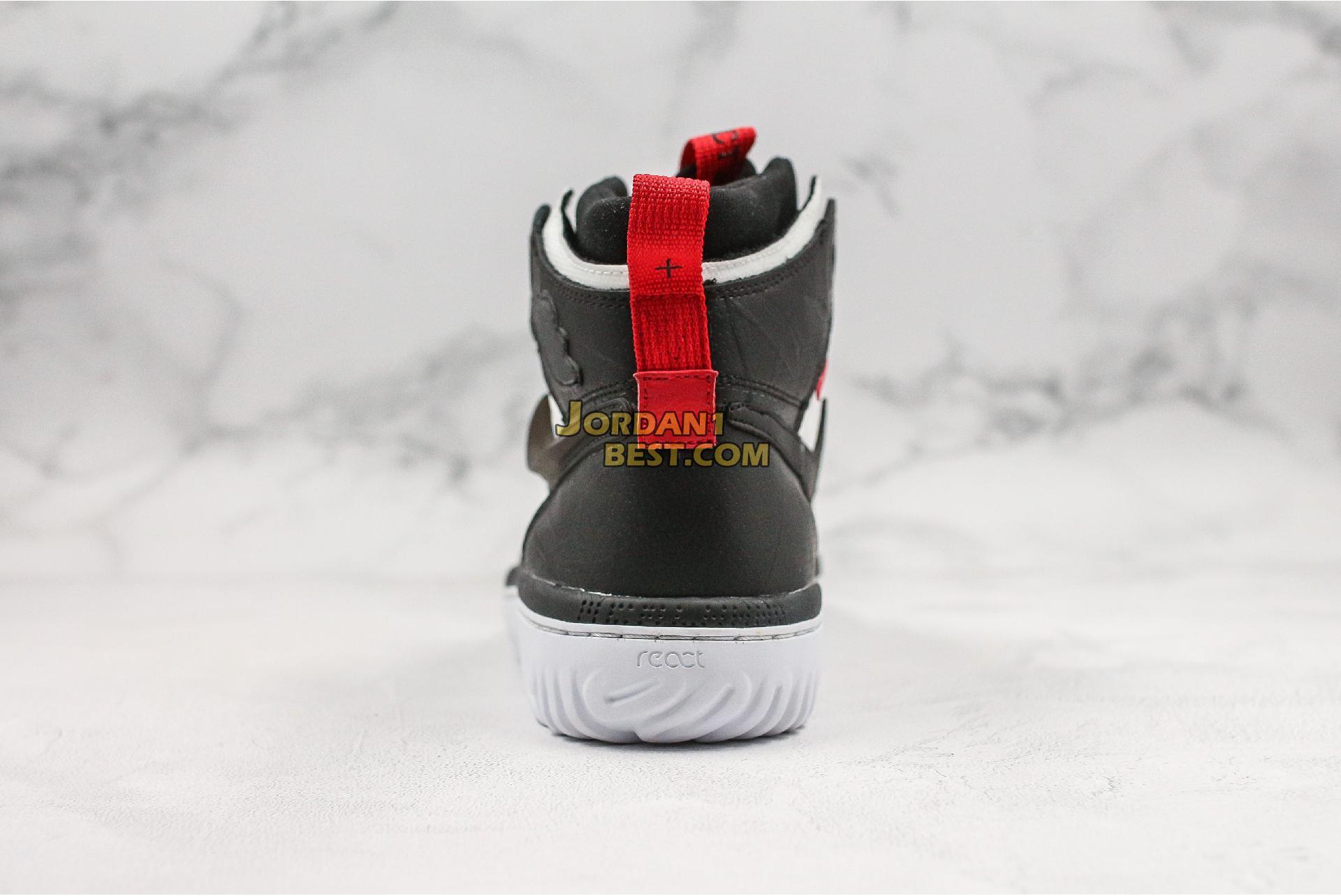 "Air Jordan 1 React High ""Black White"" AR5321-016 Mens"