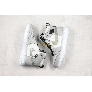 "best replicas Air Jordan 1 React High ""Grey Fog"" AR5321-100 Mens white/black/grey fog Shoes replicas On Wholesale Sale Online"