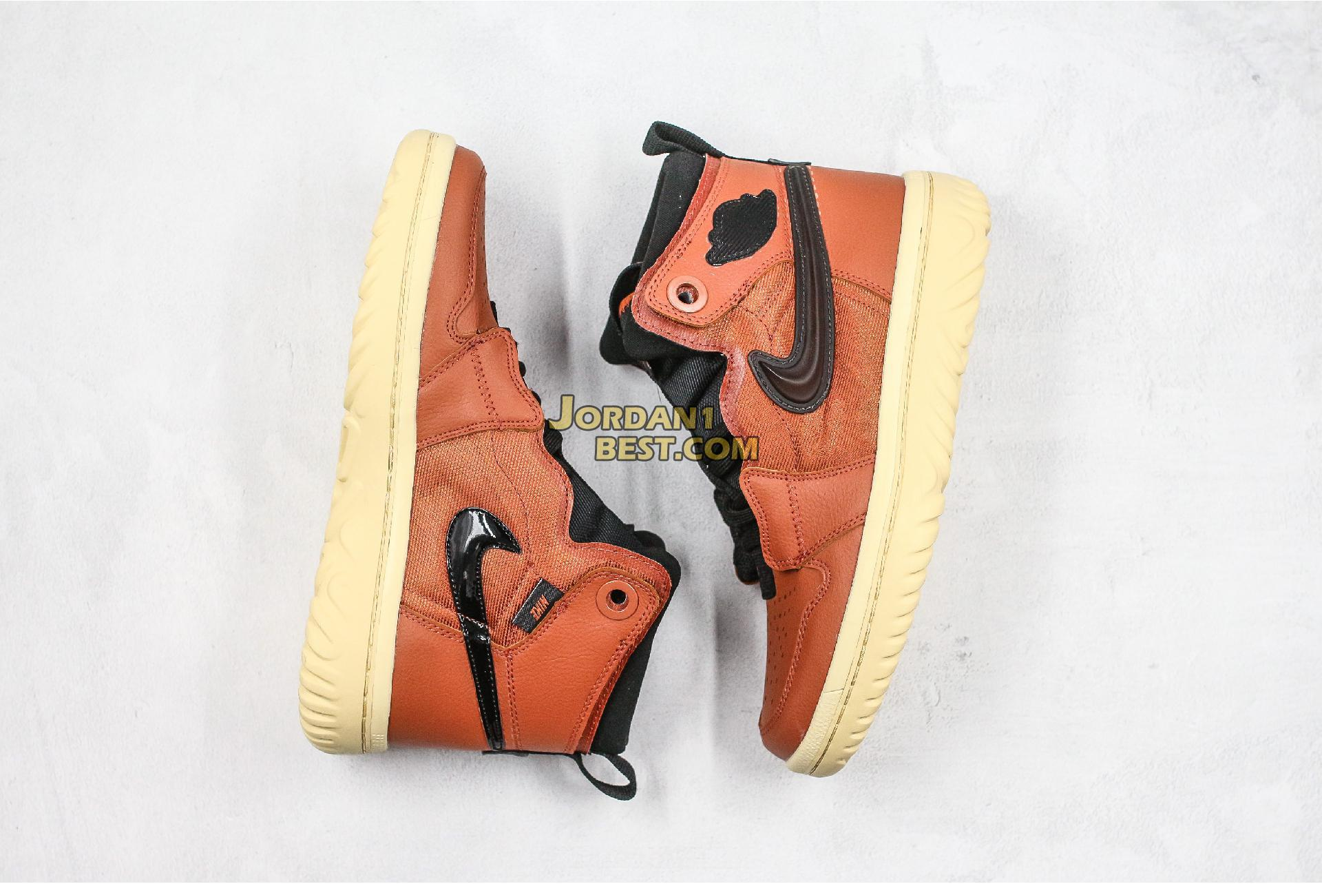 "Air Jordan 1 React ""Brown"" AR5321-200 Mens"