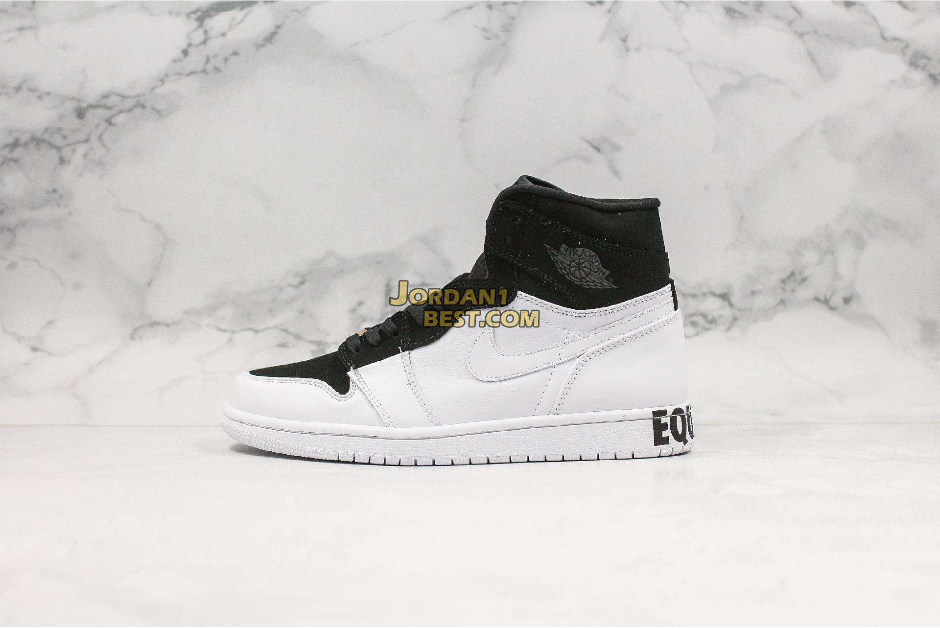 "Air Jordan 1 Retro High ""Equality"" AQ7474-001 Mens Womens"