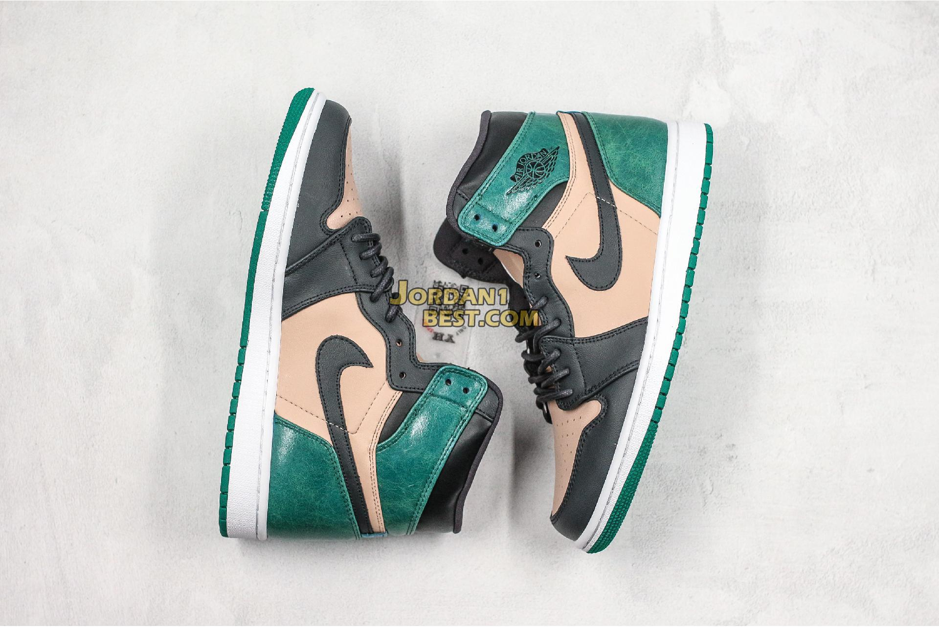 "Air Jordan 1 High Premium ""Mystic Green"" AH7389-203 Mens Womens"