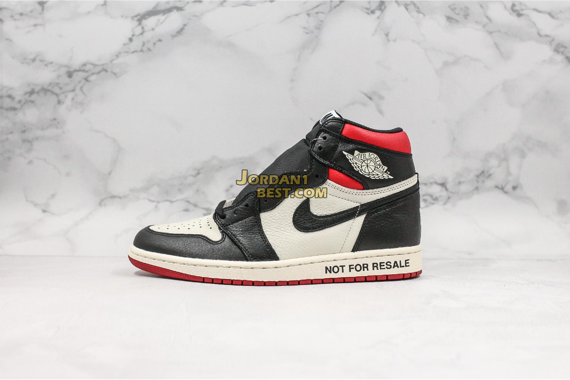 "Air Jordan 1 Retro High OG NRG ""Not For Resale"" 861428-106 Mens"