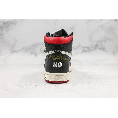 """AAA Quality Air Jordan 1 Retro High OG NRG """"Not For Resale"""" 861428-106 Mens sail/black-varsity red Shoes replicas On Wholesale Sale Online"""