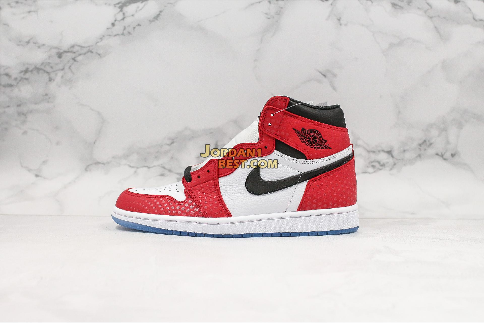 "Air Jordan 1 Retro High OG ""Origin Story"" 555088-602 Mens"