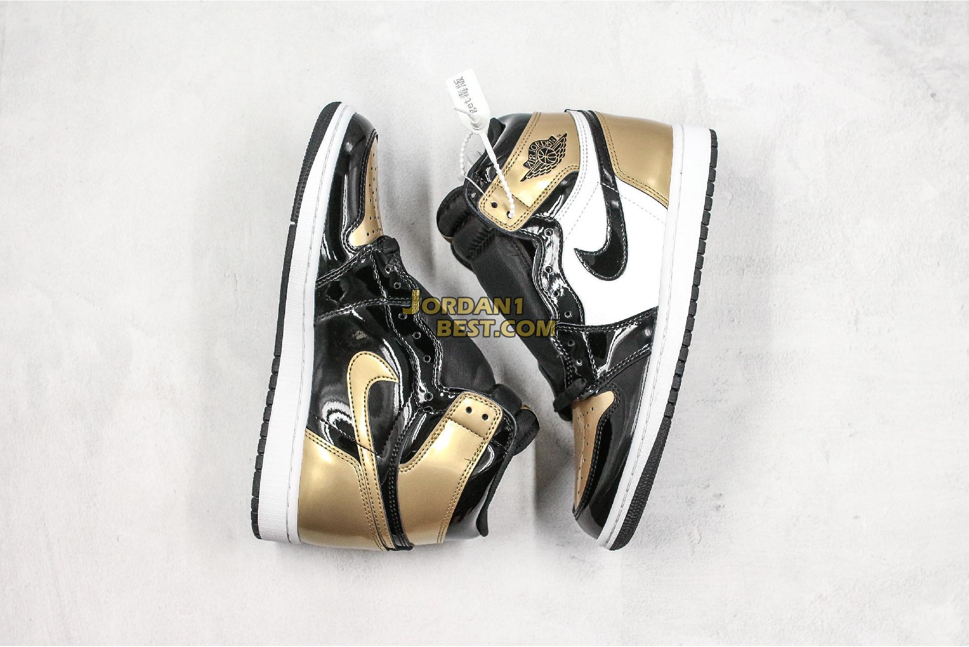 "Air Jordan 1 Retro High OG NRG ""Gold Top 3"" 861428-001 Mens"