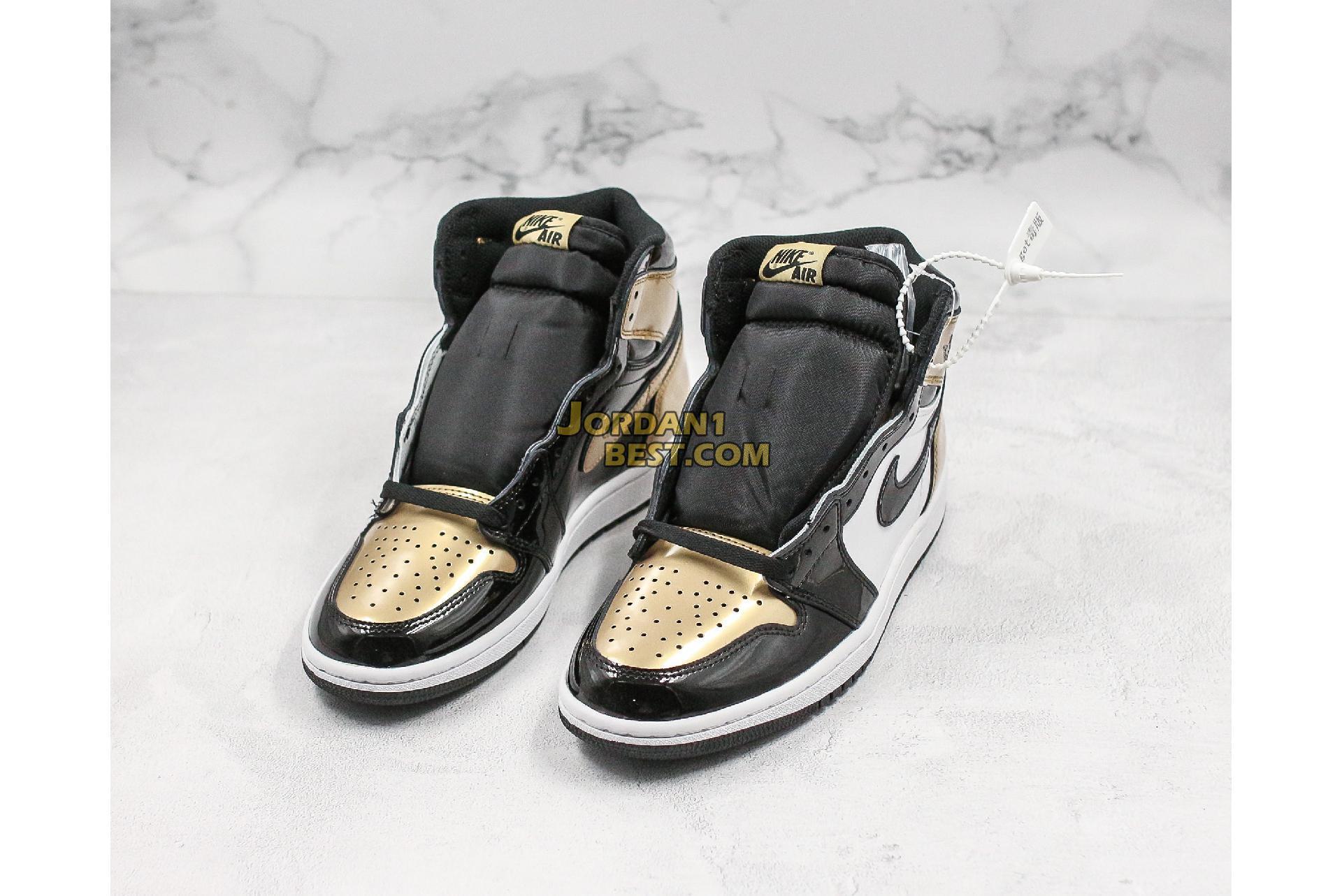"Air Jordan 1 Retro High OG NRG ""Gold Top 3"" 861428-001 Mens"