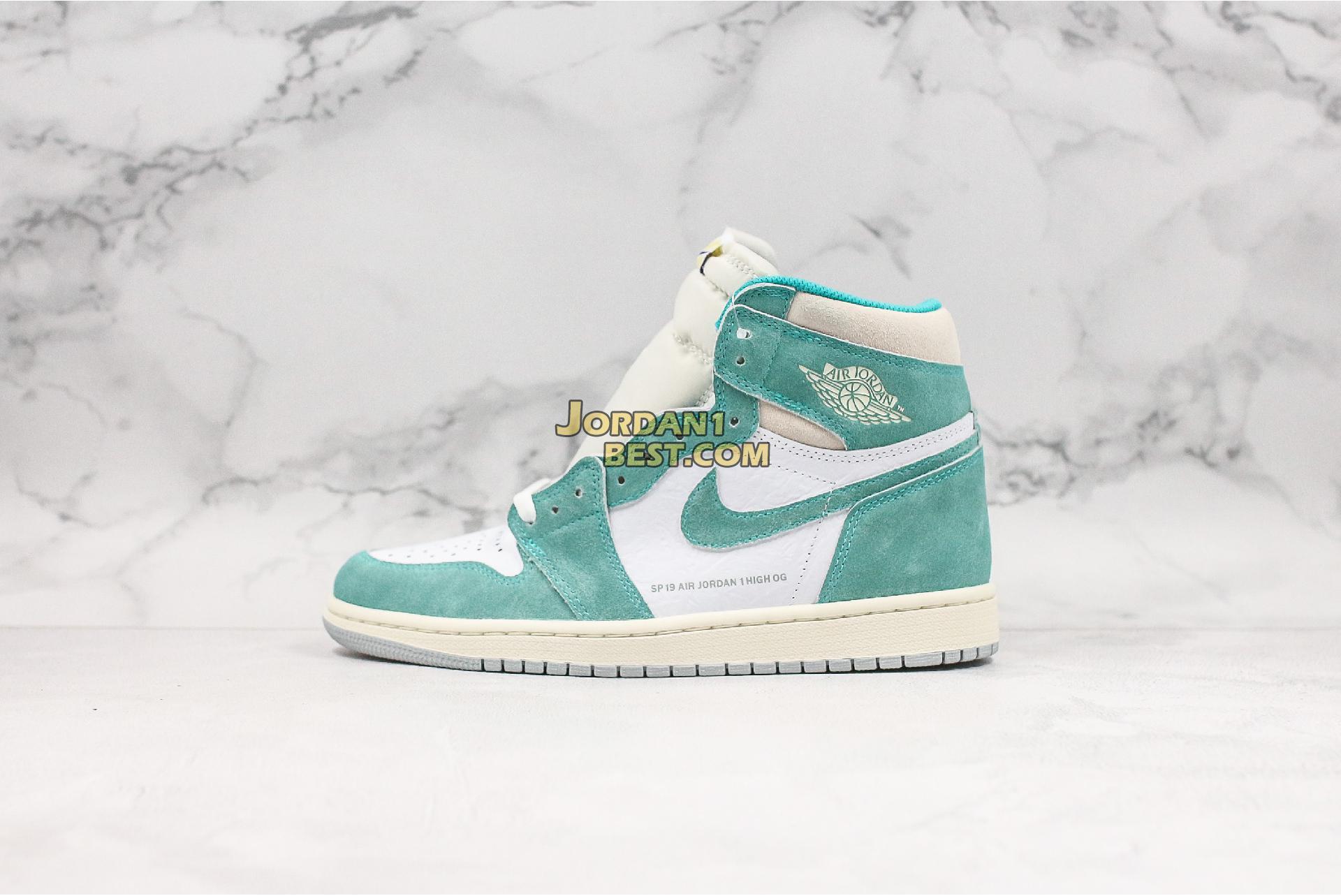 """Air Jordan 1 Retro High OG """"Turbo Green"""" 555088-311 Mens"""