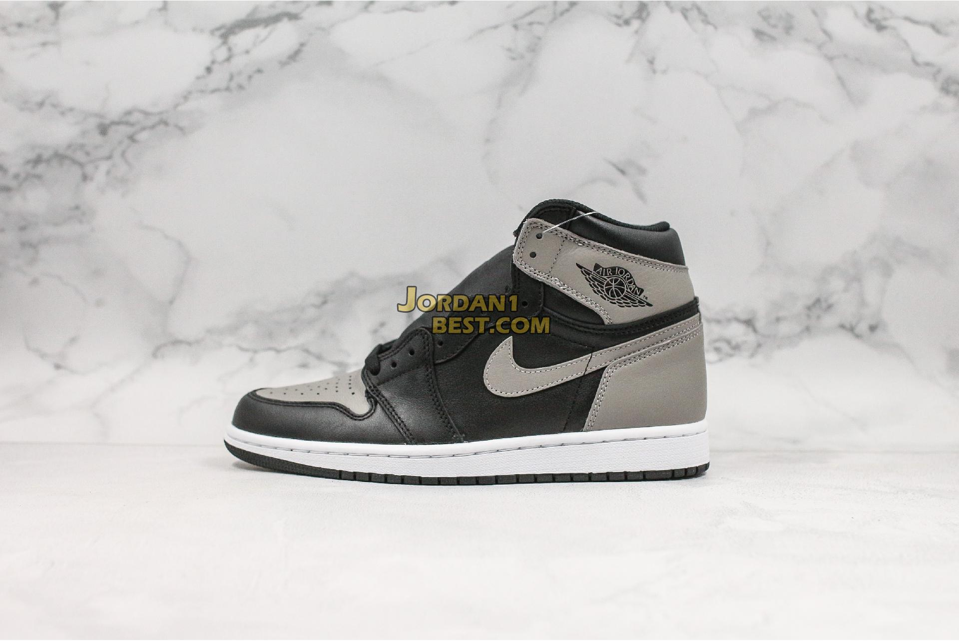 "Air Jordan 1 Retro High OG ""Shadow"" 555088-013 Mens"