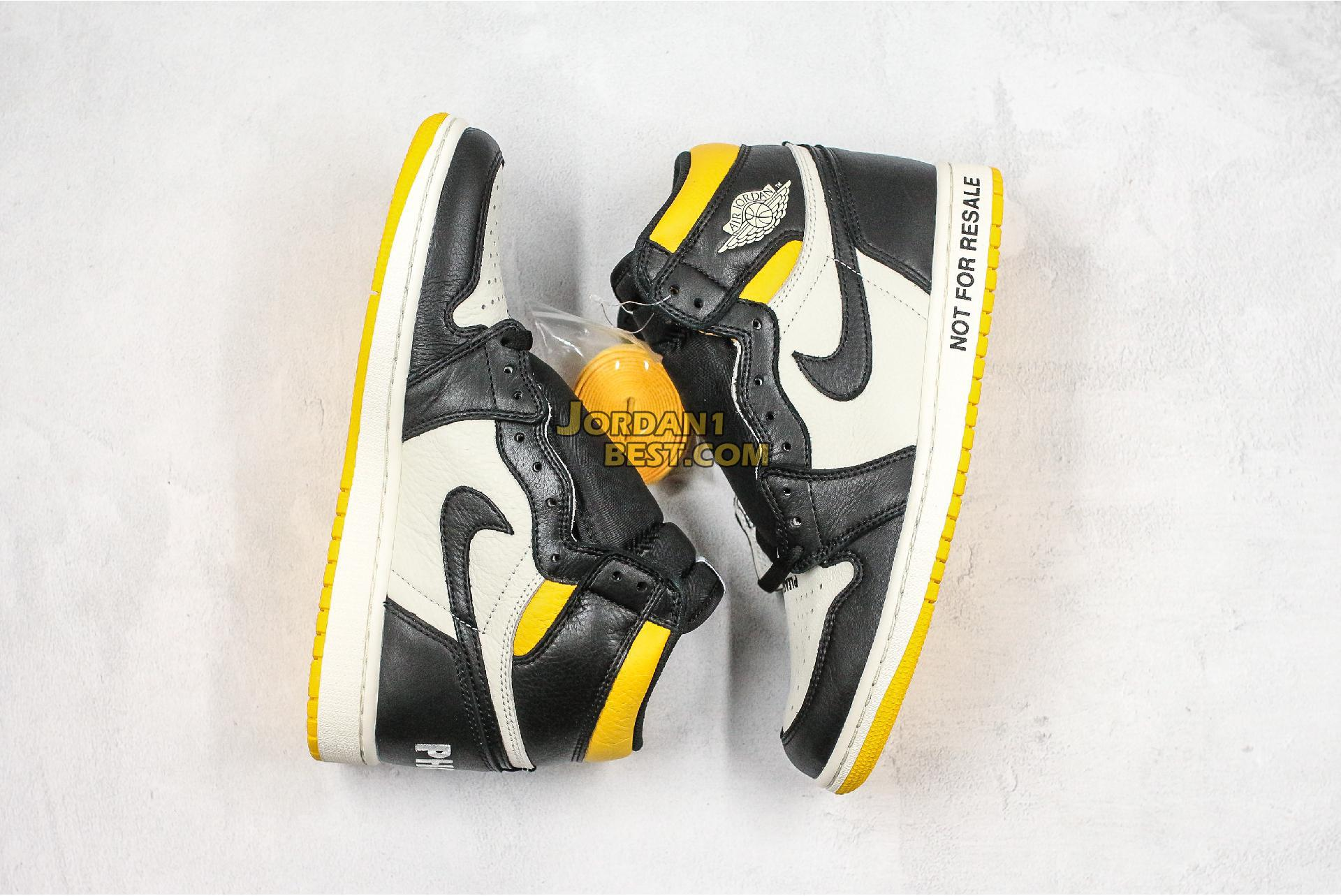 "Air Jordan 1 Retro High OG NRG ""Not For Resale"" 861428-107 Mens"