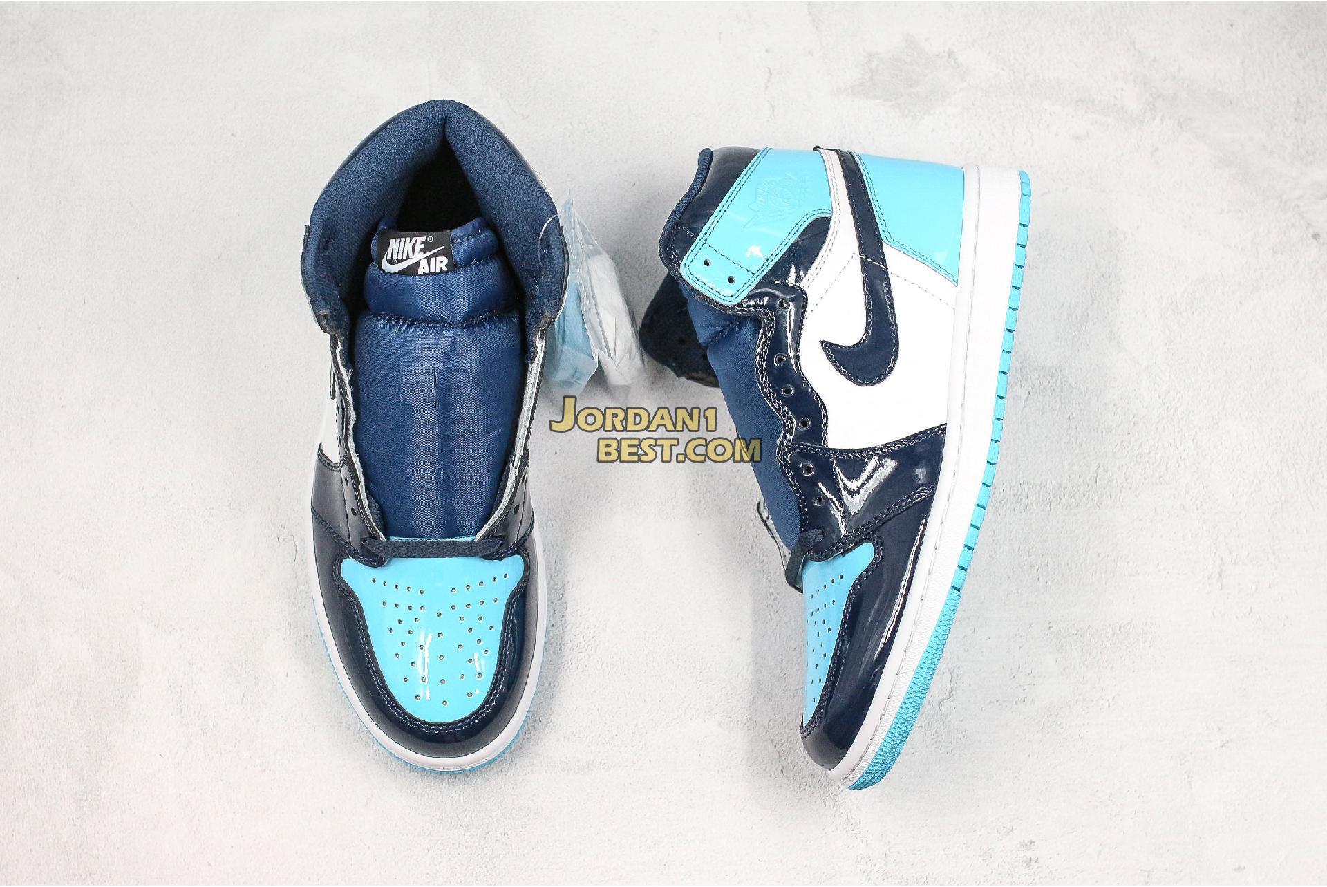 """Air Jordan 1 Retro High OG """"Blue Chill"""" CD0461-401 Mens Womens"""