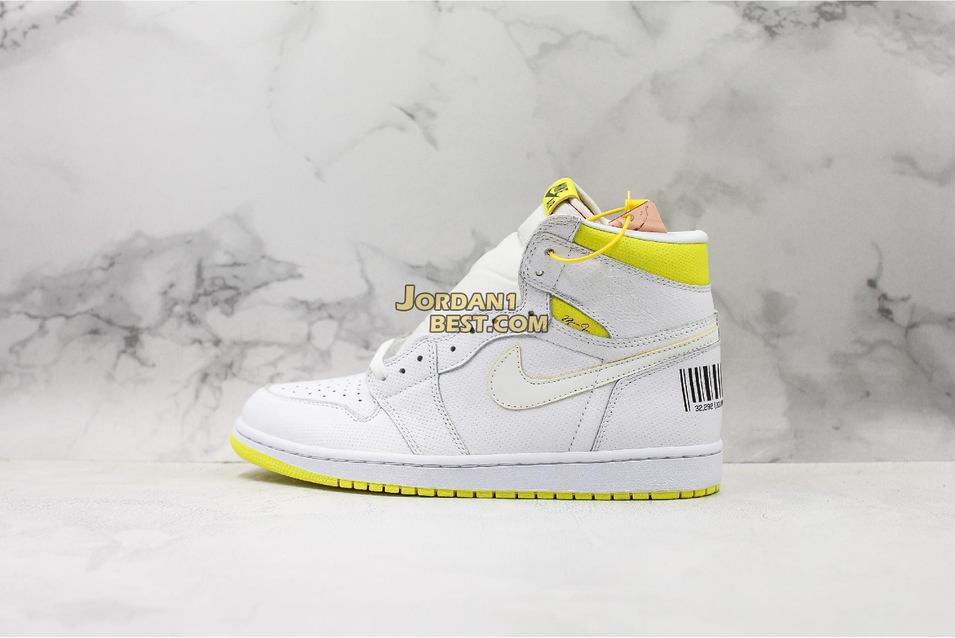 "Air Jordan 1 Retro High OG ""First Class Flight"" 555088-170 Mens"