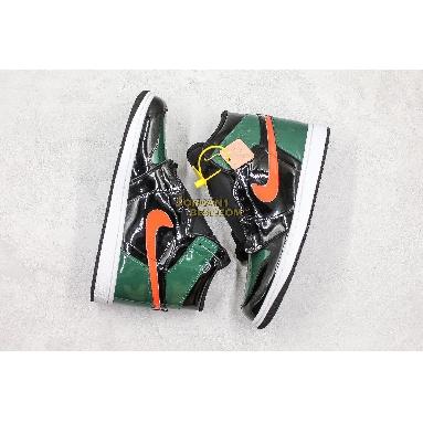 "new replicas SoleFly x Air Jordan 1 Retro High OG ""Art Basel"" Friends Family AV3905-038 Mens black/team orange-fir Shoes replicas On Wholesale Sale Online"