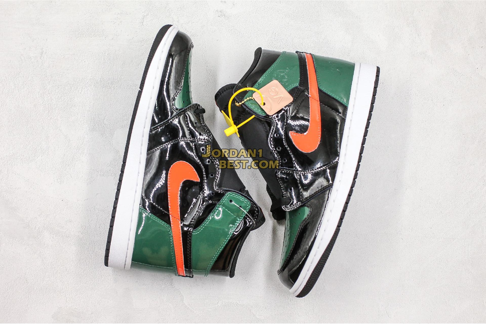 """SoleFly x Air Jordan 1 Retro High OG """"Art Basel"""" Friends Family AV3905-038 Mens"""