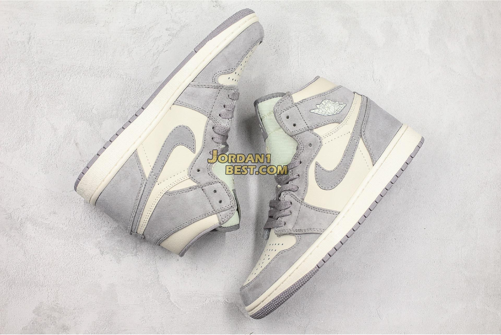 "Air Jordan 1 High Premium ""Atmosphere Grey"" AH7389-101 Mens Womens"