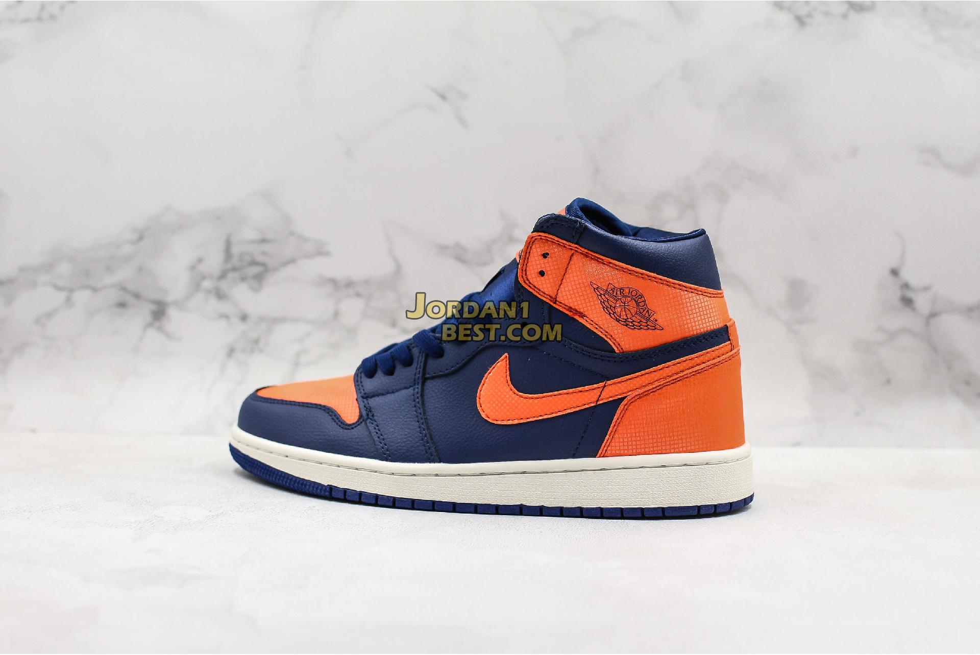 "Air Jordan 1 Retro High ""Blue Void"" AH7389-408 Mens Womens"