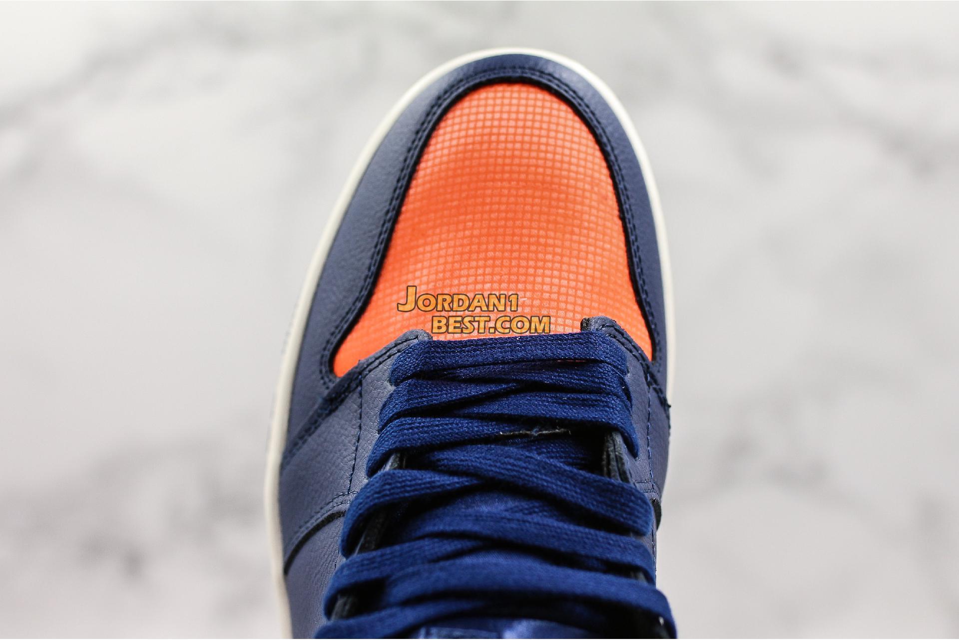 """Air Jordan 1 Retro High """"Blue Void"""" AH7389-408 Mens Womens"""