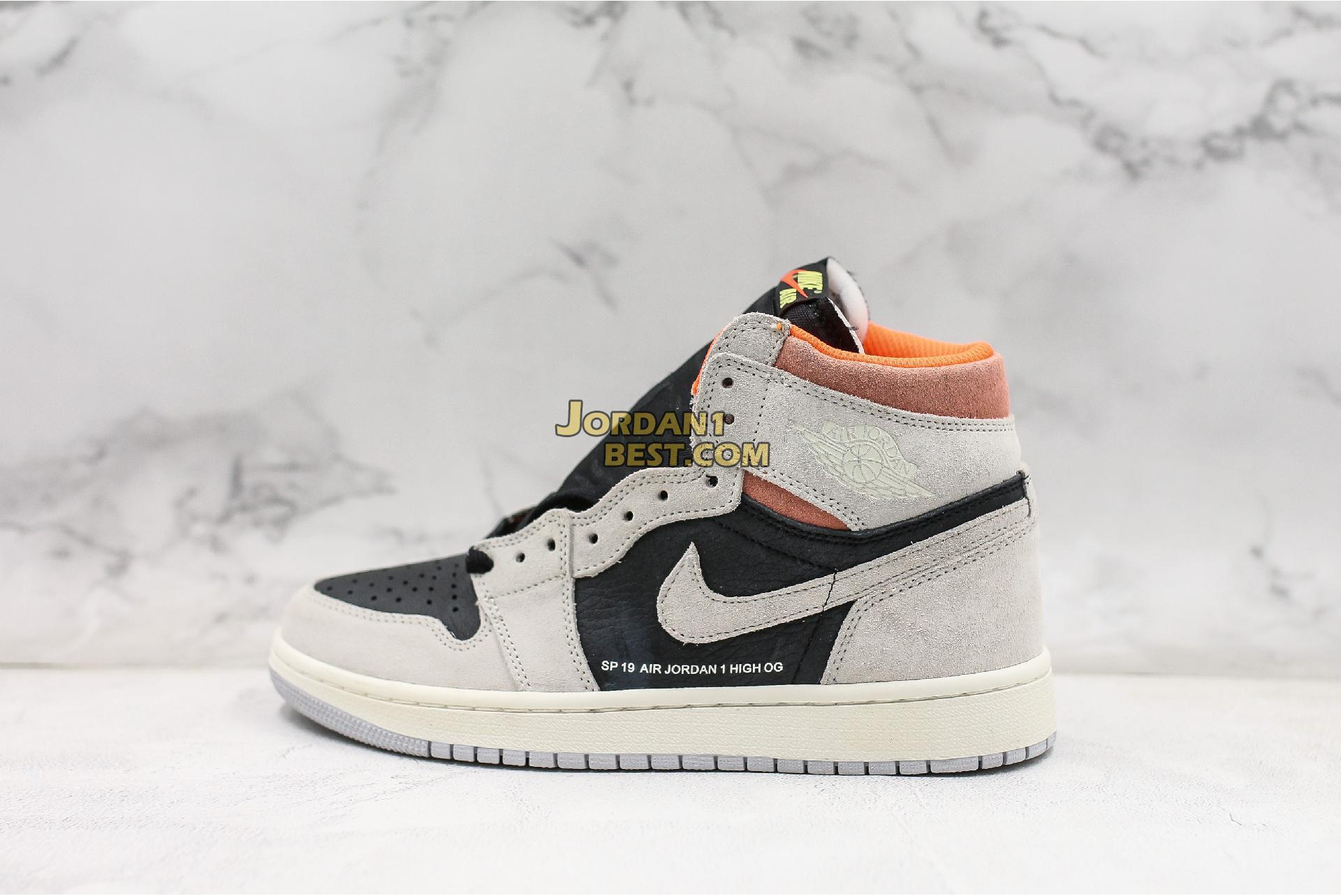 "Air Jordan 1 Retro High OG ""Neutral Grey"" 555088-018 Mens"