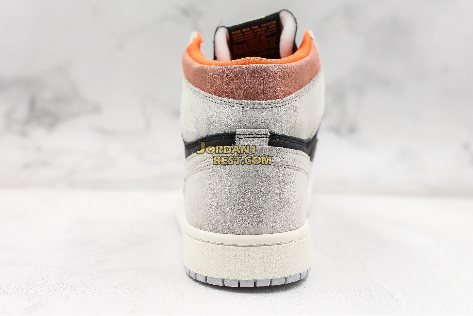 "Air Jordan 1 Retro High OG ""Neutral Grey"" 555088-018 Mens"