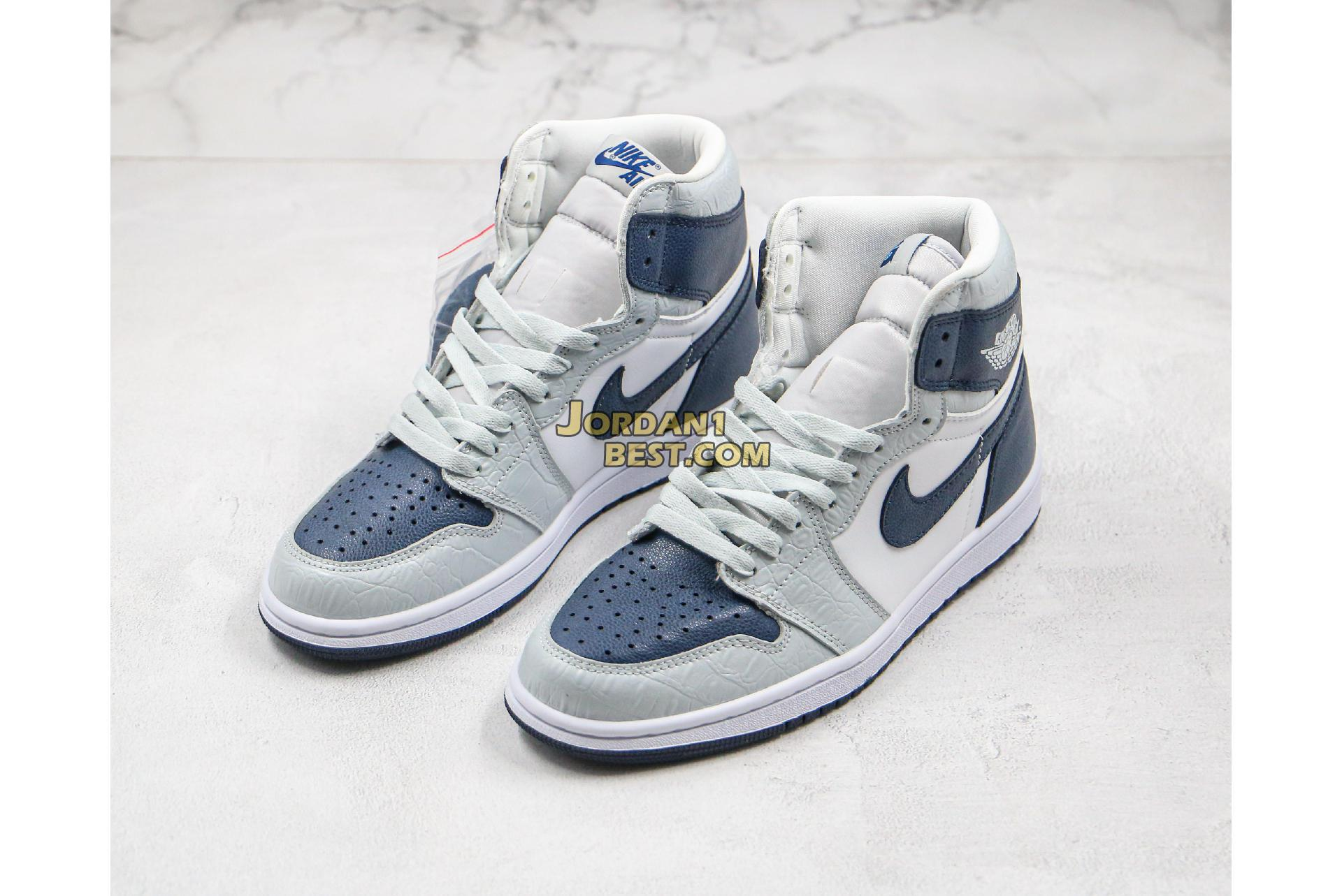 "Air Jordan 1 Retro High ""Snake Pattern"" CW8576-100 Mens Womens"