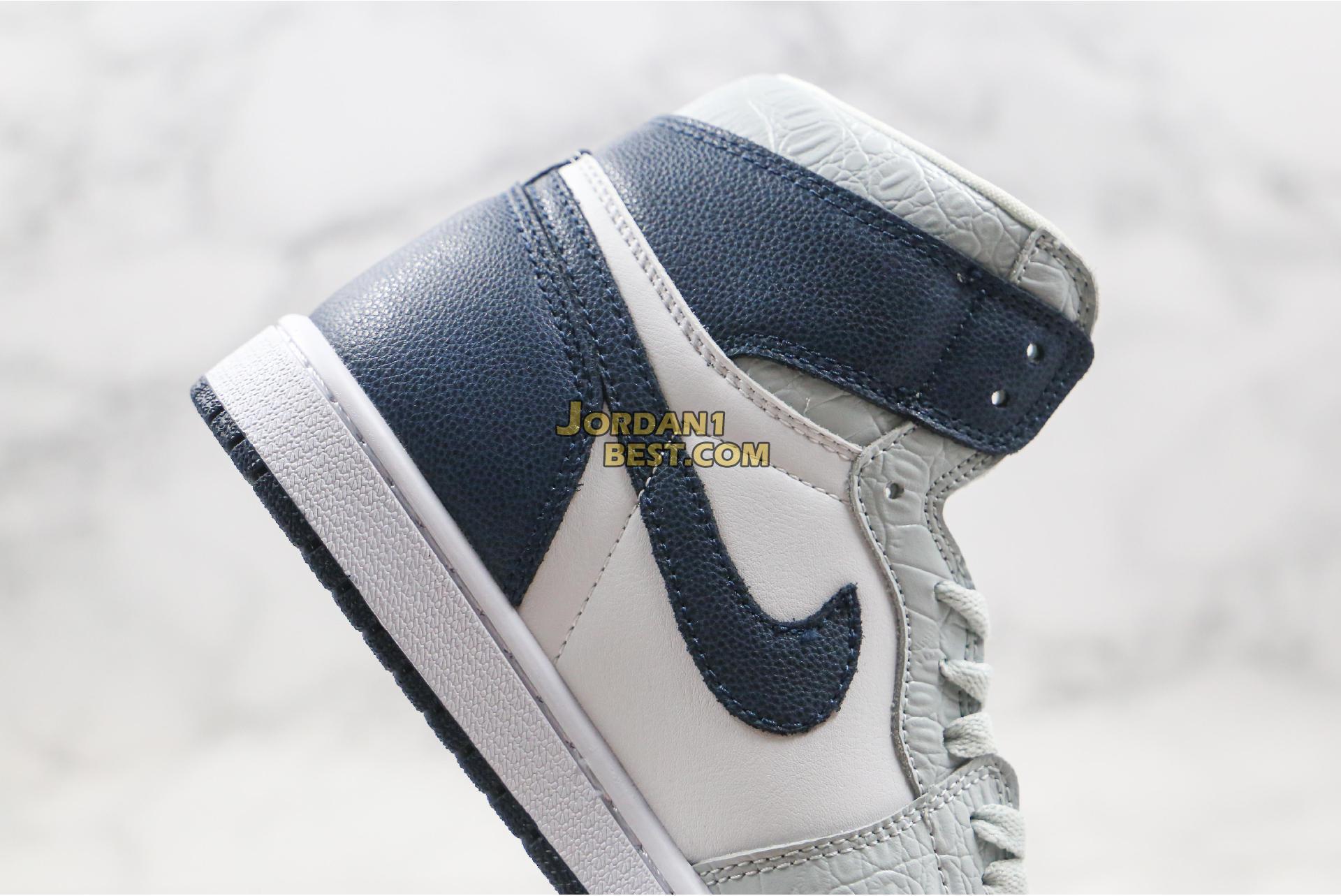 "Air Jordan 1 Retro High ""Snake Pattern"" CW8576-100 Mens Womens"