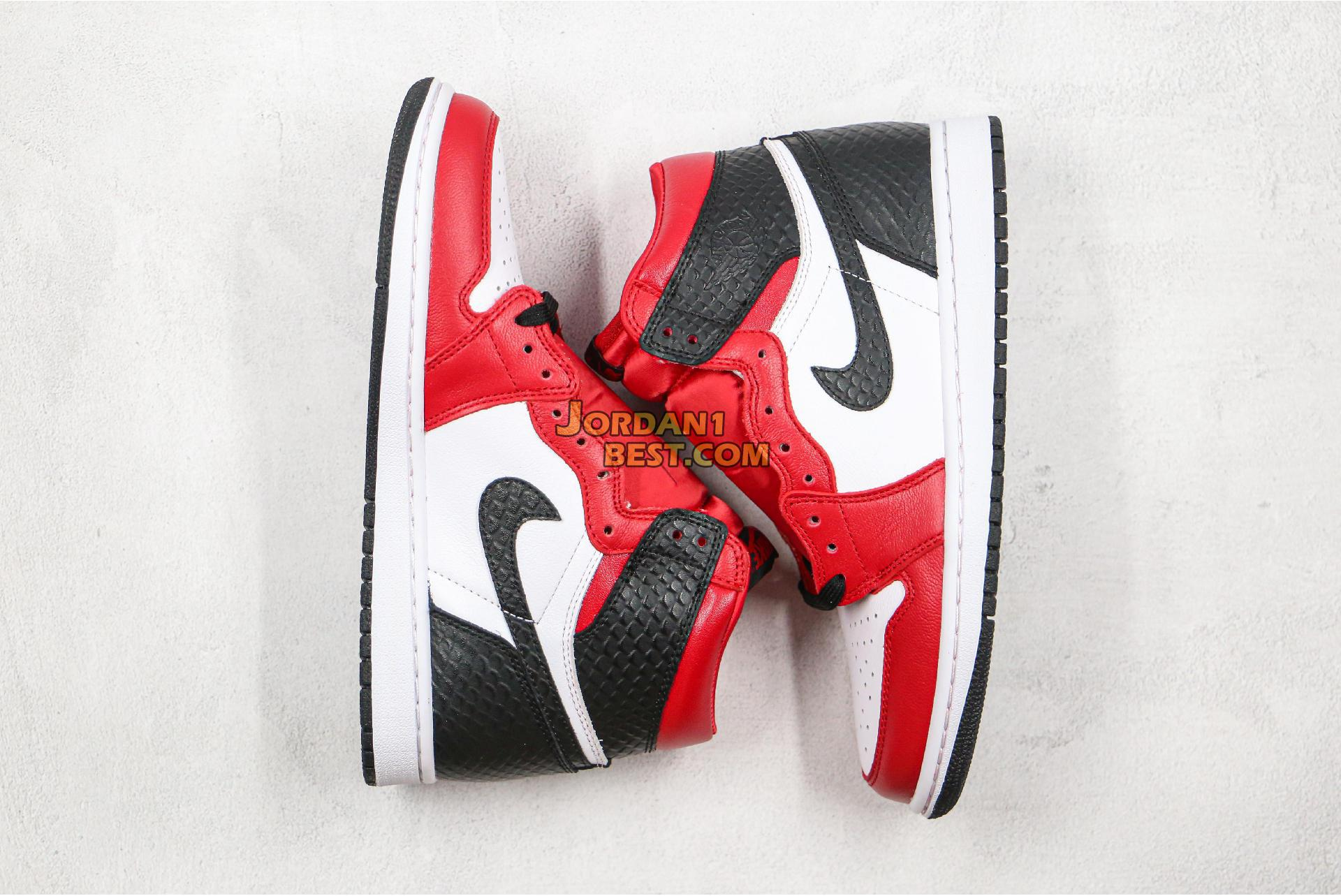 "2020 Air Jordan 1 Retro High OG ""Satin Snake"" CD0461-601 Mens Womens"