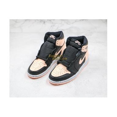 "best replicas Air Jordan 1 Retro High OG ""Crimson Tint"" 555088-081 Mens Womens black/crimson tint-hyper pink-white Shoes"