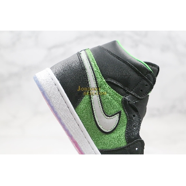 "best replicas Air Jordan 1 High Zoom ""Rage Green"" CK6637-300 Mens fir/black/tomatillo/rage green Shoes"