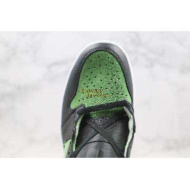 "best replicas Air Jordan 1 High Zoom ""Rage Green"" CK6637-300 Mens fir/black/tomatillo/rage green Shoes"