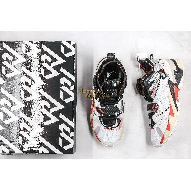 "new replicas Jordan Why Not Zer0.3 ""UNITE"" CD3003-101 Mens white/bright crimson-black Shoes"