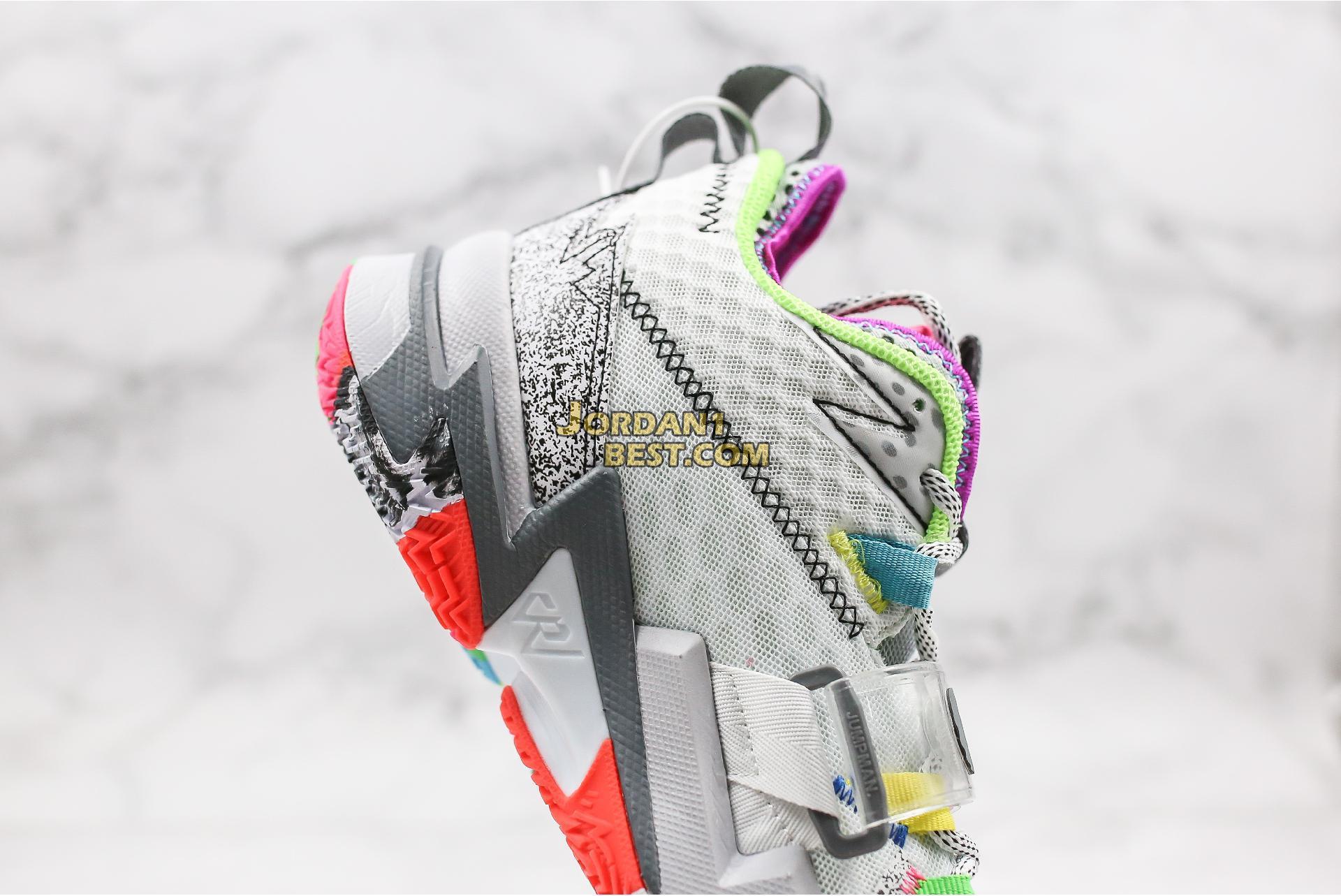 """Jordan Why Not Zer0.3 BG """"Cool Grey"""" CD5804-100 Mens"""